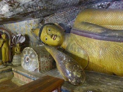 Reclining Buddha - Dambulla
