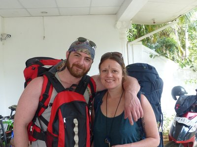 Michele and Jay....Austrians making their way through Sri Lanka