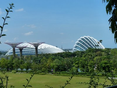 Gardens on the Bay - Flower Dome and Cloud Forest