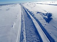 snowmobile trails in Alaska