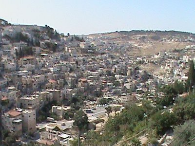 Moslem houses across from the City of David