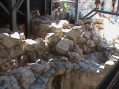 Ruin from the City of David