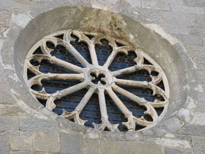 14th century rose window