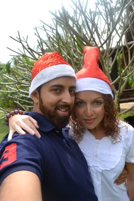 Us on xmas day in Pai