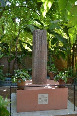 YSL memorial at Jardins majorelles, Marrakesh