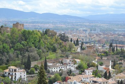 View of Granada from the hill