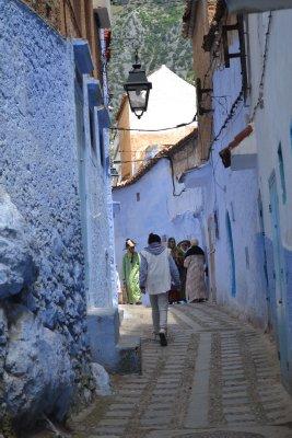 Chefchaouen streets