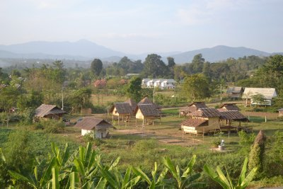 Our 'camp' in Pai