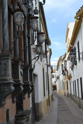 Alleys in the jewish quarter Cordoba