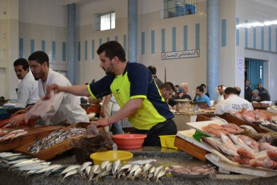 Fish market, Tangier medina
