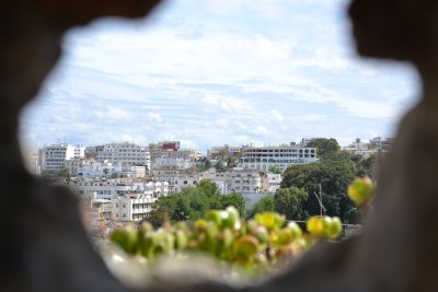 View of Tangier from the kasbah walls