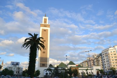 Mosque in Tangier new town