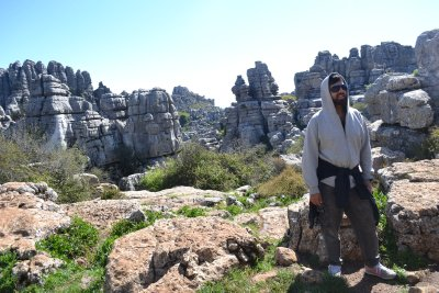Walking at El Torcal National Park