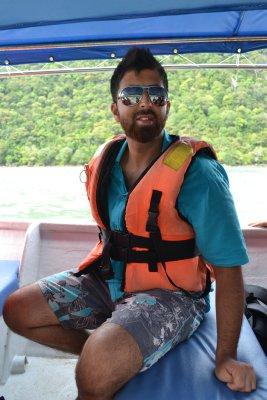 On the Langkawi island hopping trip