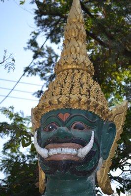 Buddhist temple, Vientiane