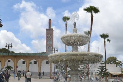 Grand socco fountain, Tangier