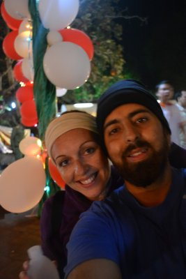 Us on New Year's Eve - Luang Prabang
