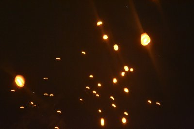 New Year&#39;s Eve - Luang Prabang - Chinese Lanterns