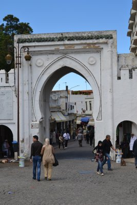 Gate to the medina, Tangier