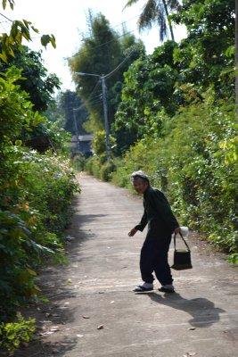 Village lady, Thailand