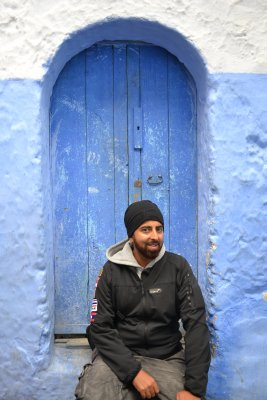 Sully in Chefchaouen