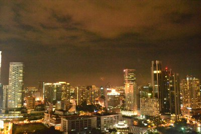 Night view of KL skyline from the SkyBar