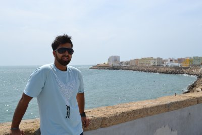 Sea walls of Cadiz