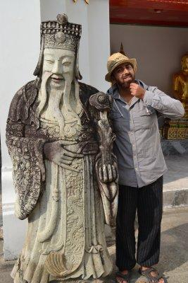 Bearded men in Bangkok