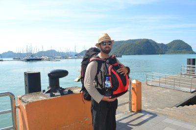Just arrived on Langkawi