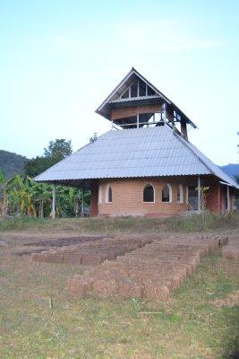 Pun Pun communal building