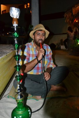 Sully with reggae and sheesha