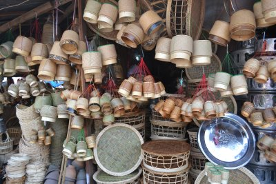 Market stall, Vientiane