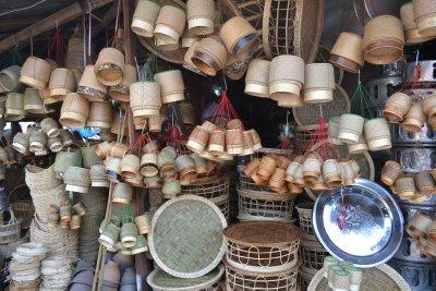 Market stall, Vientiane