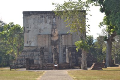 Ancient city ruins, Sukhothai