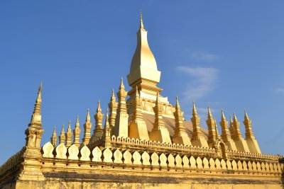 Golden stupa of Pha That Luang - a national monument
