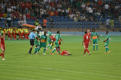 Morocco v Ivory Coast, 2014 Qualifier match