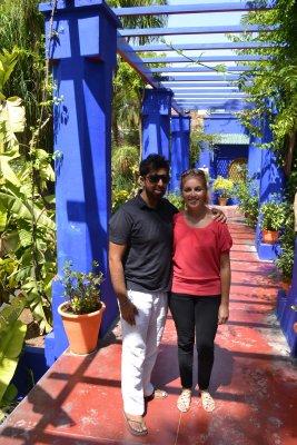 Jardins majorelles, Marrakesh