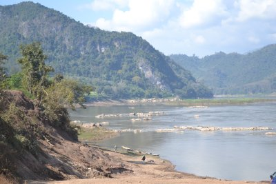 View of Mekong from a small village we cycled to