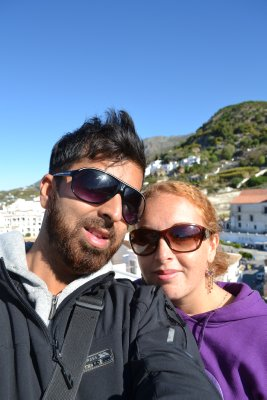 Us in Frigiliana