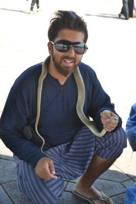 Snakes in Djemma el Fna, Marrakesh