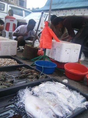 Crab and Fish Del Boy