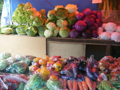 Fruit and veg like back home