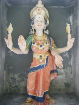 Statue at hindu temple, Tanah Rata