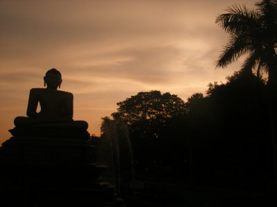 Victoria Park, Colombo, before sunset