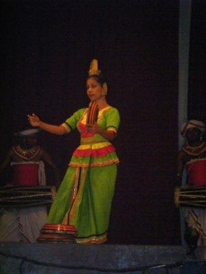 Dancer at Kandy cultural show