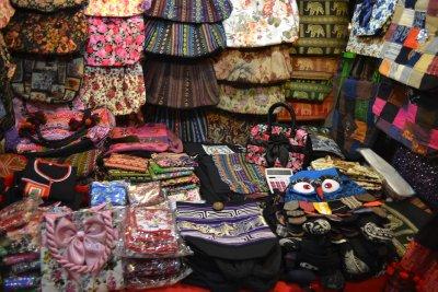 Handbags in Chiang Mai's night market