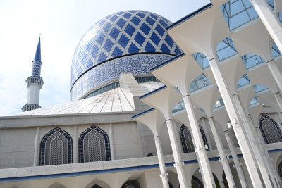 The 'Blue Mosque', Shah Alam