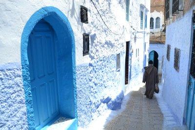Chefchaouen alleys
