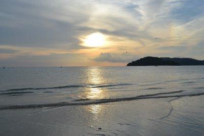Sunset at Cenang beach, Langkawi