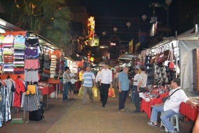Night Market on Petaling Street, KL
